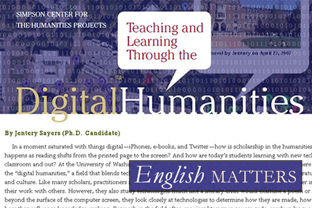 Teaching & Learning through Digital Humanities