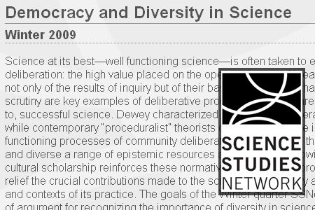 Hum 596: Democracy & Diversity in Science